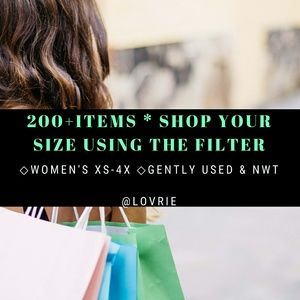 Tops - How to Find Everything in Your Size